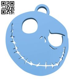 Jack Skellingtone key chain – Halloween H000944 file stl free download 3D Model for CNC and 3d printer