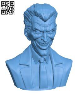 Joker H000591 file stl free download 3D Model for CNC and 3d printer