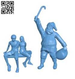 Keith and Kath Christmas Tree Delivery H001122 file stl free download 3D Model for CNC and 3d printer