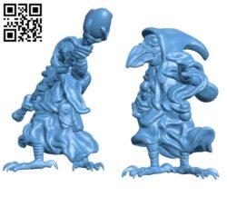 Kenku H000884 file stl free download 3D Model for CNC and 3d printer