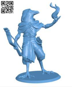 Kenku Rogue H000916 file stl free download 3D Model for CNC and 3d printer