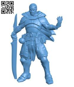 Kickstarter – Presupported Shardforged Artificer H000565 file stl free download 3D Model for CNC and 3d printer