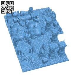 Kingdom Death Monster – Terrain H000834 file stl free download 3D Model for CNC and 3d printer
