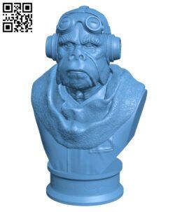 Kuiil Bust – The Mandalorian H000917 file stl free download 3D Model for CNC and 3d printer