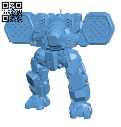 LGB-7Q Longbow for Battletech – Robot H000738 file stl free download 3D Model for CNC and 3d printer