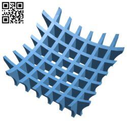 Lattice Bowl H000885 file stl free download 3D Model for CNC and 3d printer
