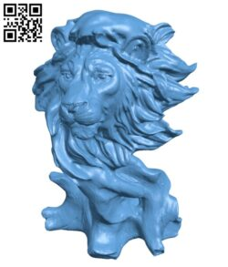 Lion Simba H000534 file stl free download 3D Model for CNC and 3d printer