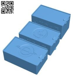 MTG Deck Box with Dice Storage H000835 file stl free download 3D Model for CNC and 3d printer