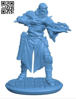 Marksman of Death Set H000593 file stl free download 3D Model for CNC and 3d printer