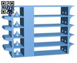 Material temperature test Set H000594 file stl free download 3D Model for CNC and 3d printer