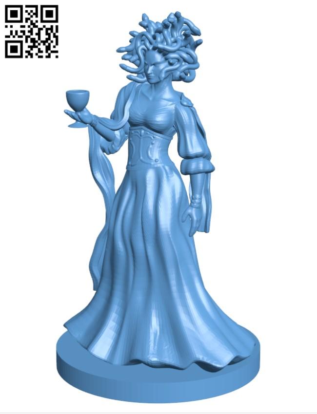 Medusa H000790 file stl free download 3D Model for CNC and 3d printer