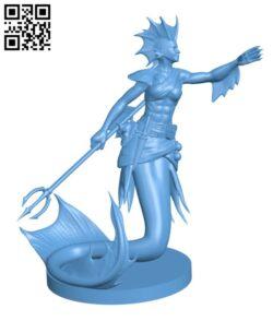 Merfolk Updated H000536 file stl free download 3D Model for CNC and 3d printer