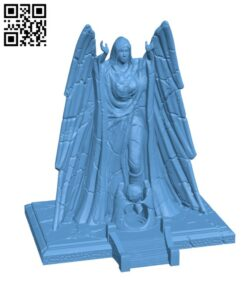 Meridia's Shrine H000742 file stl free download 3D Model for CNC and 3d printer