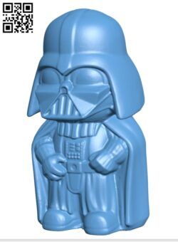 Mini Vader H000537 file stl free download 3D Model for CNC and 3d printer
