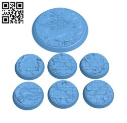 Miniature bases H000791 file stl free download 3D Model for CNC and 3d printer