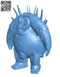 Mondoshawan – The Fifth Element Set H000596 file stl free download 3D Model for CNC and 3d printer