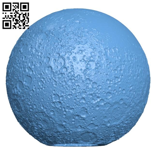 Moon Lamp H000507 file stl free download 3D Model for CNC and 3d printer