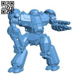 Nova Cat Prime for Battletech – Robot H000708 file stl free download 3D Model for CNC and 3d printer