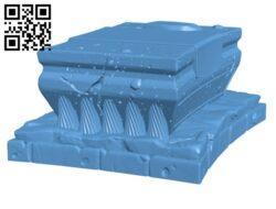 Ol' Graham's Ritual Altar H000568 file stl free download 3D Model for CNC and 3d printer