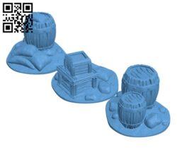 Ol' Graham's Scatter Terrain H000508 file stl free download 3D Model for CNC and 3d printer