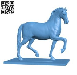 Pacing Horse Griffin H000676 file stl free download 3D Model for CNC and 3d printer