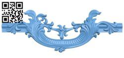 Pattern decor design A006620 download free stl files 3d model for CNC wood carving