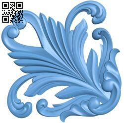 Pattern decor design A006622 download free stl files 3d model for CNC wood carving