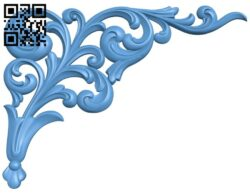 Pattern in the corner A006625 download free stl files 3d model for CNC wood carving