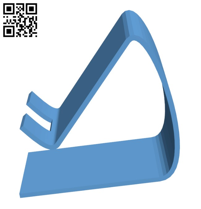 Phone Stand H000860 file stl free download 3D Model for CNC and 3d printer