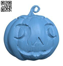 Pumpkin – Halloween H000954 file stl free download 3D Model for CNC and 3d printer
