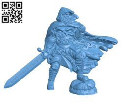 RPG Death Knight H000711 file stl free download 3D Model for CNC and 3d printer