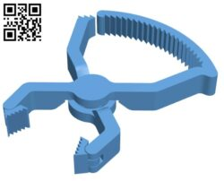 Ratchet clamp print-in-place Set H000598 file stl free download 3D Model for CNC and 3d printer
