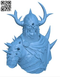 Razduun – Undead Lord H000892 file stl free download 3D Model for CNC and 3d printer