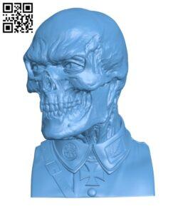 Red Skull H000862 file stl free download 3D Model for CNC and 3d printer