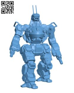 Robot ANH-1X Annihilator H000572 file stl free download 3D Model for CNC and 3d printer