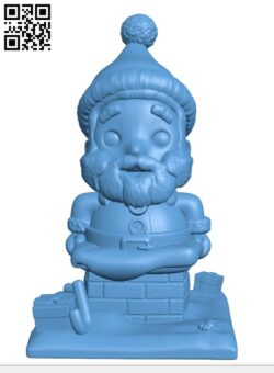 Santa Claus Trapped UP H001062 file stl free download 3D Model for CNC and 3d printer