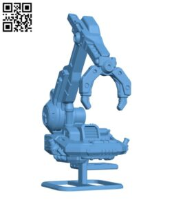 Sci-fi grav crane Griffin H000679 file stl free download 3D Model for CNC and 3d printer