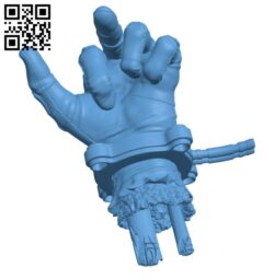 Severed Deadpool hand Griffin H000681 file stl free download 3D Model for CNC and 3d printer