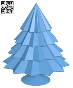 Shining Christmas tree H001063 file stl free download 3D Model for CNC and 3d printer