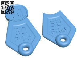 Shopping Cart Token H000515 file stl free download 3D Model for CNC and 3d printer