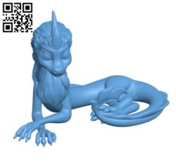 Sisu the Dragon H000573 file stl free download 3D Model for CNC and 3d printer