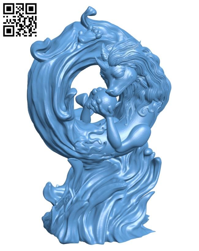 Sisu, the Dragon H000773 file stl free download 3D Model for CNC and 3d printer