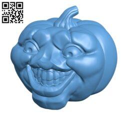 Smiling Jack O Lantern – Halloween H001195 file stl free download 3D Model for CNC and 3d printer