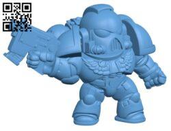 Spaceman Set H000601 file stl free download 3D Model for CNC and 3d printer