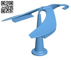 Spinning Balancing Bird Set H000602 file stl free download 3D Model for CNC and 3d printer