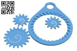 Spirograph H000627 file stl free download 3D Model for CNC and 3d printer
