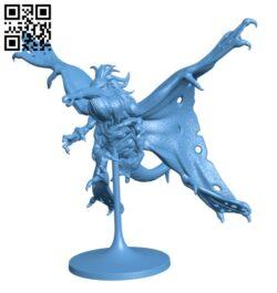 Stirge H000517 file stl free download 3D Model for CNC and 3d printer