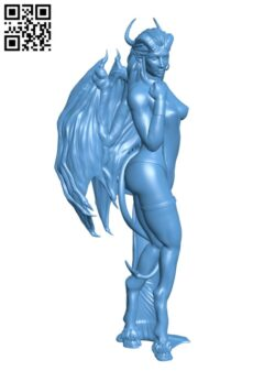 Succubus H000746 file stl free download 3D Model for CNC and 3d printer