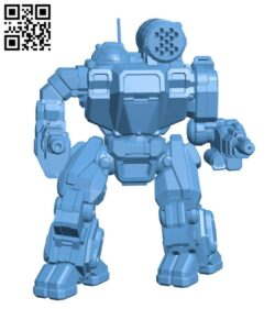 Summoner Prime, AKA Thor for Battletech – Robot H000574 file stl free download 3D Model for CNC and 3d printer