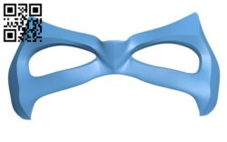 Superhero Mask  H000628 file stl free download 3D Model for CNC and 3d printer
